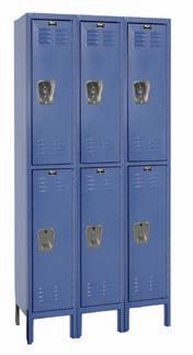 Double-Tier-Lockers