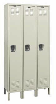 Single-Tier-Lockers
